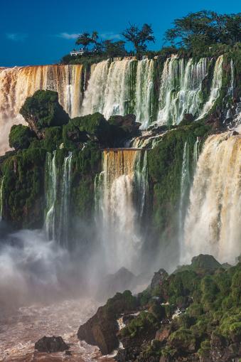 World Heritage「View of Iguazu Falls (UNESCO World Heritage Site) from Argentinian side, Iguazu , Argentina」:スマホ壁紙(17)