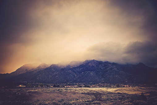 Sandia Mountains「Sandia Mountains at Sunset」:スマホ壁紙(9)
