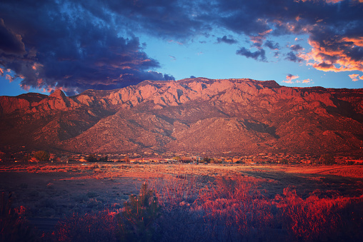 Sandia Mountains「Sandia Mountains at Sunset」:スマホ壁紙(0)