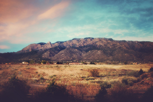 Sandia Mountains「Sandia Mountains at Sunset」:スマホ壁紙(12)