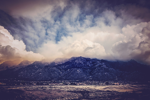 Sandia Mountains「Sandia Mountains at Sunset」:スマホ壁紙(14)