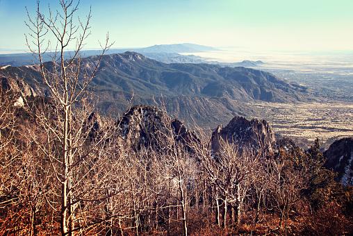 Sandia Mountains「Sandia Mountains - View from the Sandia Crest」:スマホ壁紙(5)