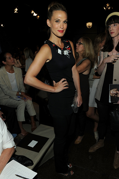 Spring Collection「Donna Karan New York - Front Row - Spring 2012 Mercedes-Benz Fashion Week」:写真・画像(2)[壁紙.com]