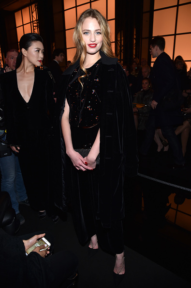 Spring Collection「Giorgio Armani Prive : Front Row - Paris Fashion Week - Haute Couture Spring Summer 2017」:写真・画像(5)[壁紙.com]