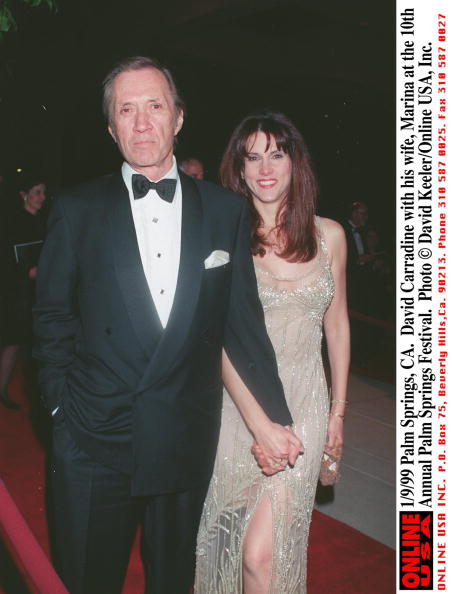 David Keeler「Palm Springs Ca David Carradine With His Wife Marina At The 10Th Annual Palm Springs Festi」:写真・画像(8)[壁紙.com]