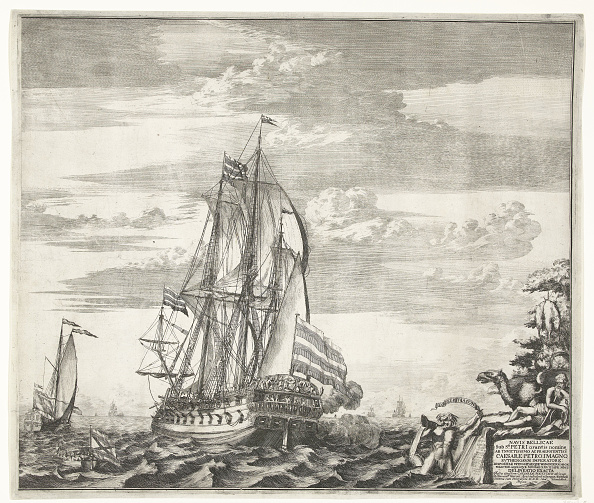 Ship「Flagship Goto Predestinatsia (The Providence of God) built by Peter the Great at Voronezh, 1700, 170」:写真・画像(9)[壁紙.com]