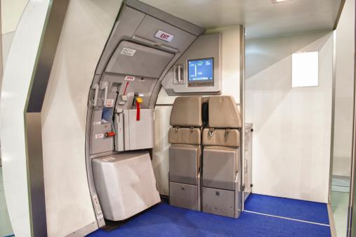 Commercial Airplane「Airplane emergency exit door」:スマホ壁紙(15)