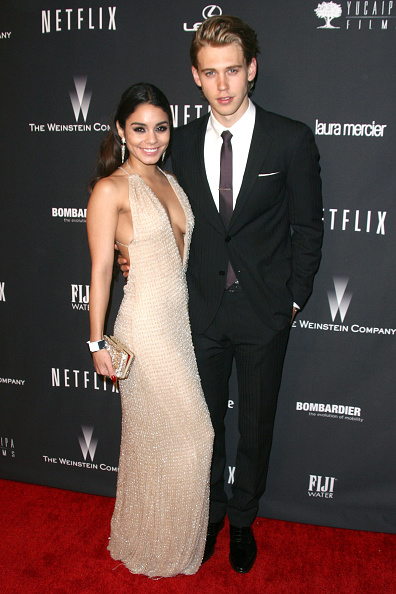 Austin Butler「The Weinstein Company's 2014 Golden Globe Awards After Party - Arrivals」:写真・画像(13)[壁紙.com]