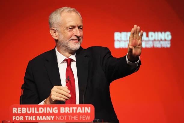 Jeremy Corbyn Addresses Labour Conference:ニュース(壁紙.com)