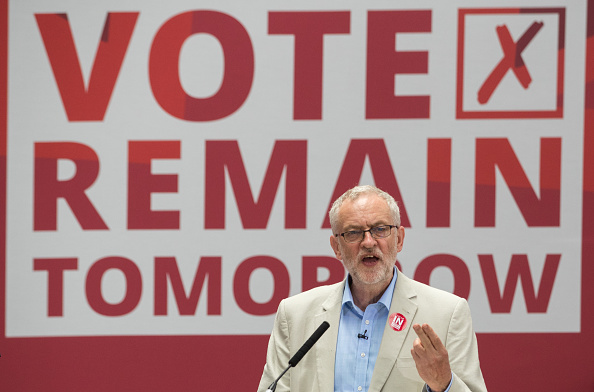 Brexit「Labour In Rally For The Last Time In The EU Referendum Campaign」:写真・画像(1)[壁紙.com]