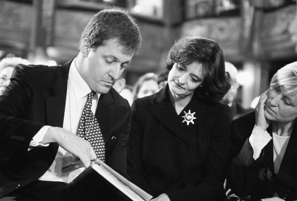 British Labour Party「Alastair Campbell And Cherie Blair」:写真・画像(7)[壁紙.com]