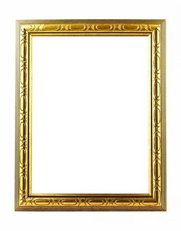 Gold Colored「Blank Classical frame」:スマホ壁紙(11)