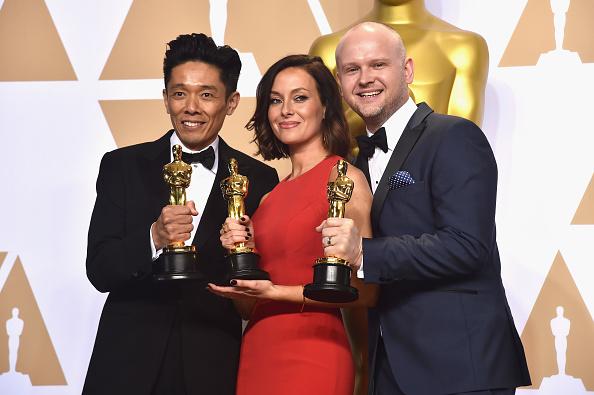 プレスルーム「90th Annual Academy Awards - Press Room」:写真・画像(18)[壁紙.com]