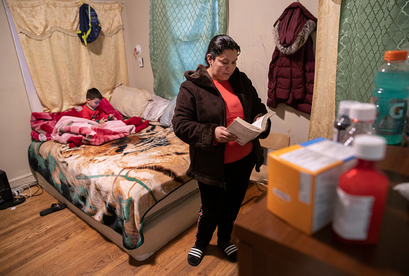 Immigrant「Sick Immigrants Isolate At Home During Recovery From Suspected COVID-19 Cases」:写真・画像(17)[壁紙.com]