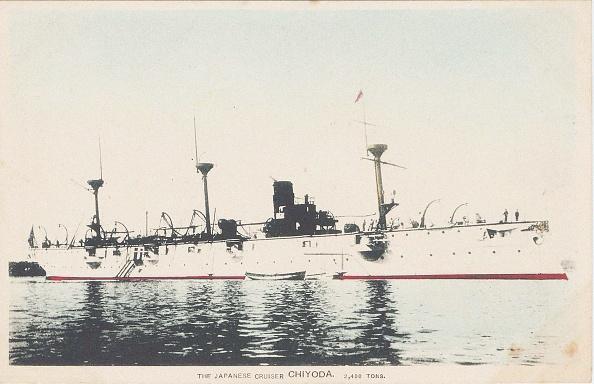 東京「Japanese Cruiser Chiyoda C 1905」:写真・画像(8)[壁紙.com]