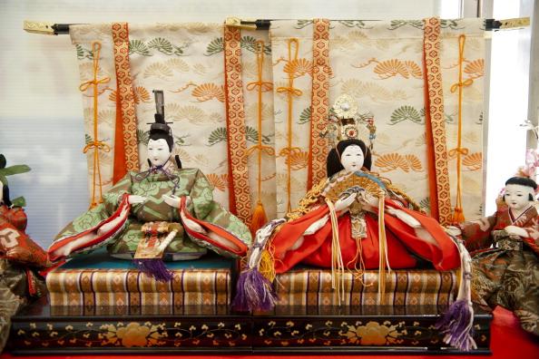 Hinamatsuri「Hina Dolls On Pyramid Display For Girls' Day」:写真・画像(7)[壁紙.com]