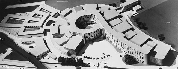 Planning「Architect's Model Of BBC Television Centre」:写真・画像(18)[壁紙.com]