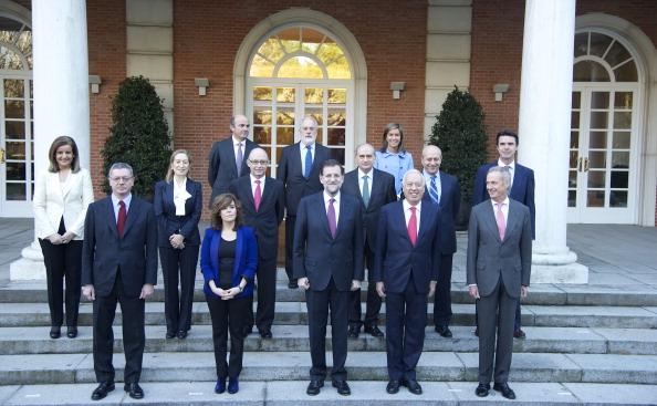 Alberto Ruiz Gallardón「Mariano Rajoy and New Ministerial Team at La Moncloa」:写真・画像(14)[壁紙.com]
