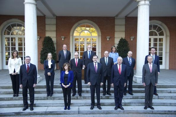 Alberto Ruiz Gallardón「Mariano Rajoy and New Ministerial Team at La Moncloa」:写真・画像(15)[壁紙.com]