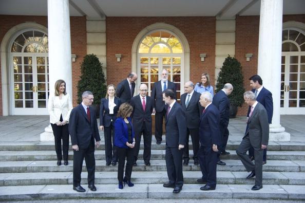 Alberto Ruiz Gallardón「Mariano Rajoy and New Ministerial Team at La Moncloa」:写真・画像(11)[壁紙.com]
