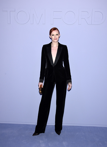 Suit「Tom Ford Fall/Winter 2018 Women's Runway Show」:写真・画像(18)[壁紙.com]