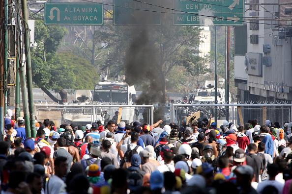 Crisis「Demonstrations in Caracas」:写真・画像(16)[壁紙.com]