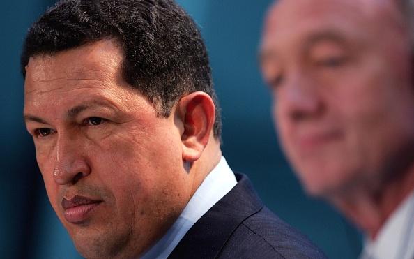 Government Building「President Chavez Of Venezuela Meets With London Mayor」:写真・画像(19)[壁紙.com]