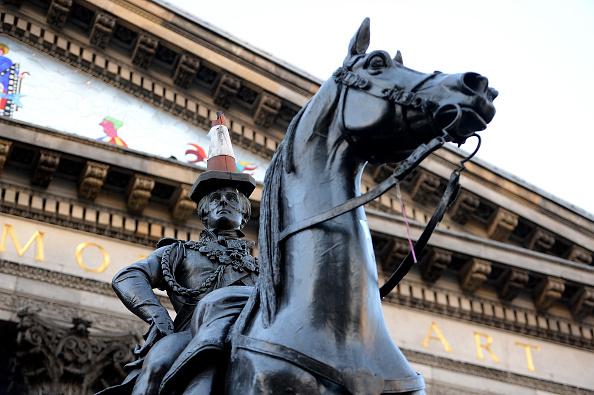 Glasgow - Scotland「Duke of Wellington Statue In Glasgow To Keep Traffic Cone」:写真・画像(19)[壁紙.com]
