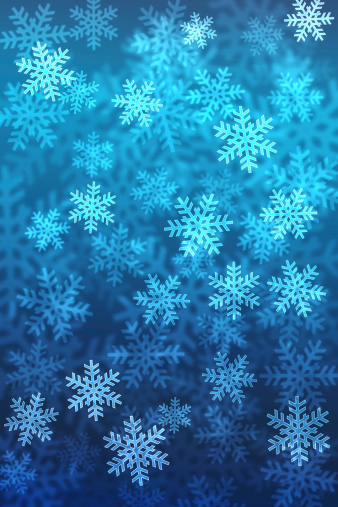 雪の結晶「ボケ背景にスノーフレーククリスマスグラジエントエリアはテキスト」:スマホ壁紙(17)