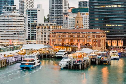 Financial District「Auckland Ferry Terminal.」:スマホ壁紙(7)