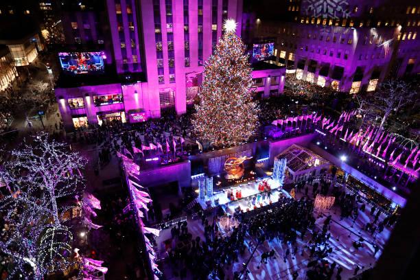 86th Annual Rockefeller Center Christmas Tree Lighting Ceremony:ニュース(壁紙.com)