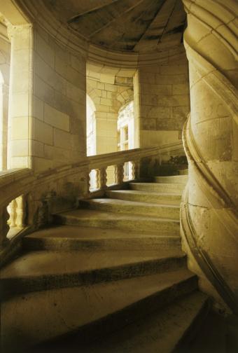 Loire Valley「Stone Spiral Stairway」:スマホ壁紙(16)