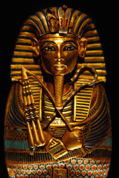 Gold Colored「'Tutankhamun & The Golden Age Of The Pharaohs' Exhibition - Press View」:写真・画像(17)[壁紙.com]