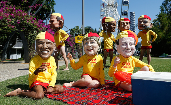 Daniel Munoz「G20 Protesters Gather In Brisbane」:写真・画像(10)[壁紙.com]