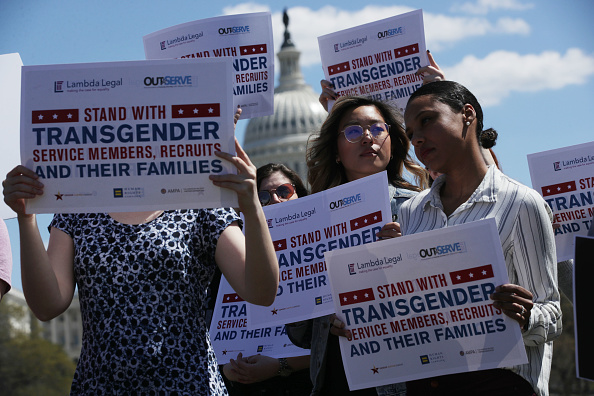 Forbidden「Democrat Lawmakers Hold A Rally Against The Trump Administration's Transgender Military Ban」:写真・画像(9)[壁紙.com]