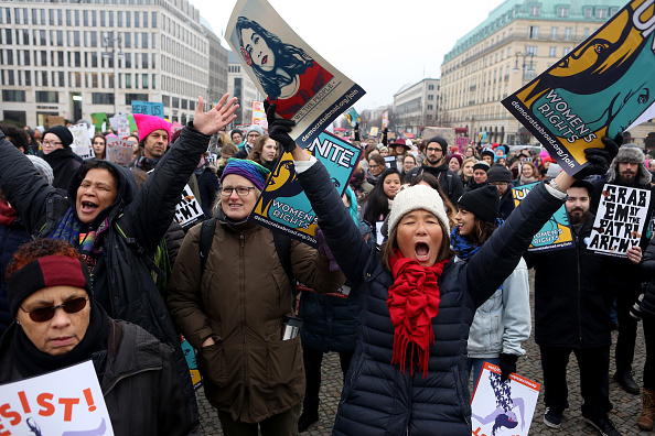 Politics「2018 Women's March In Berlin」:写真・画像(16)[壁紙.com]