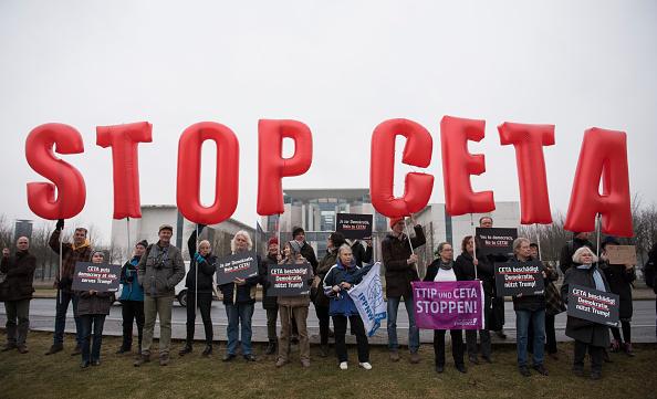 Free Trade Agreement「Canadian Prime Minister Justin Trudeau Visits Berlin」:写真・画像(12)[壁紙.com]