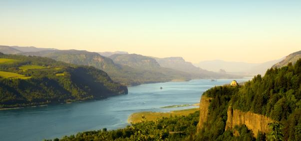 Columbia River「Columbia Gorge」:スマホ壁紙(10)