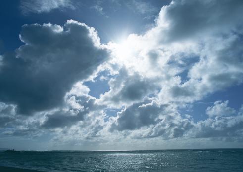 オアフ島「Sky and Sea」:スマホ壁紙(19)