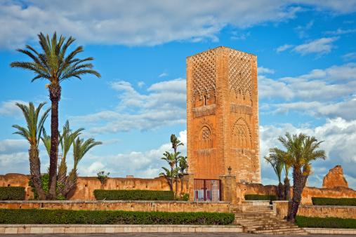 Good Posture「Hassan Tower in Rabat Morocco Africa」:スマホ壁紙(14)