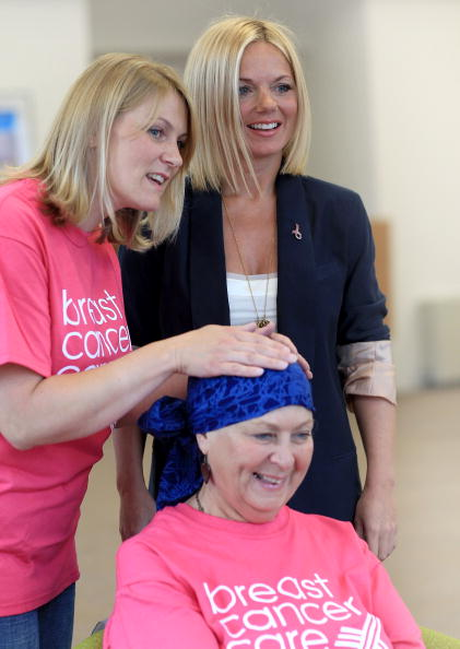 Breast「Exclusive: Geri Halliwell Visits Cancer Charity」:写真・画像(0)[壁紙.com]