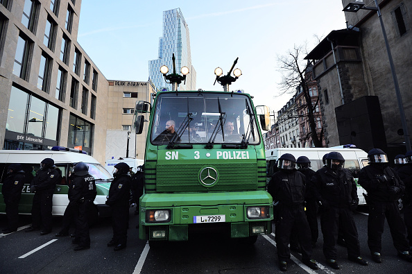 Seat of the European Central Bank「Blockupy Protests Accompany ECB Inauguration」:写真・画像(13)[壁紙.com]