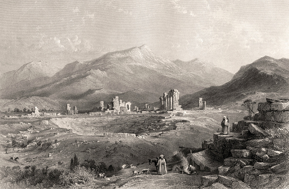 Ancient Greece「Laodicea (Laodikeia) ruins of the ancient Greek city (now in Denizli Province」:写真・画像(7)[壁紙.com]