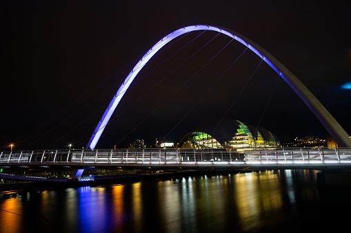 Street Style「Long Exposure of the Gateshead Millennium Bridge」:スマホ壁紙(14)