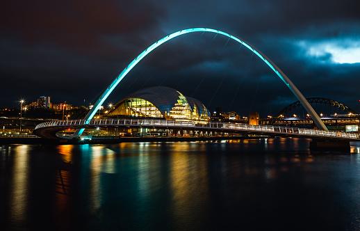 Street Style「Long Exposure of the Gateshead Millennium Bridge」:スマホ壁紙(15)