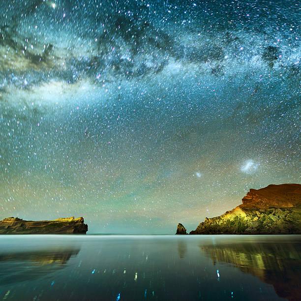 Long Exposure of Stars:スマホ壁紙(壁紙.com)