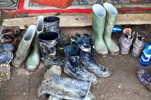 Music Festival「Muddy boots at Glastonbury Festival 2011」:スマホ壁紙(2)