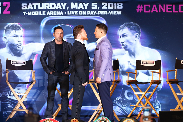 Saul Alvarez「Chivas Regal and fans of the Chivas Fight Club join Gennady 'GGG' Golovkin as he discusses his anticipated rematch at LA LIVE on February 27 in Los Angeles」:写真・画像(12)[壁紙.com]