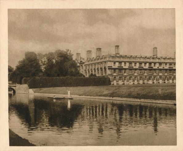 Circa 14th Century「'Clare College, Cambridge', 1923」:写真・画像(8)[壁紙.com]