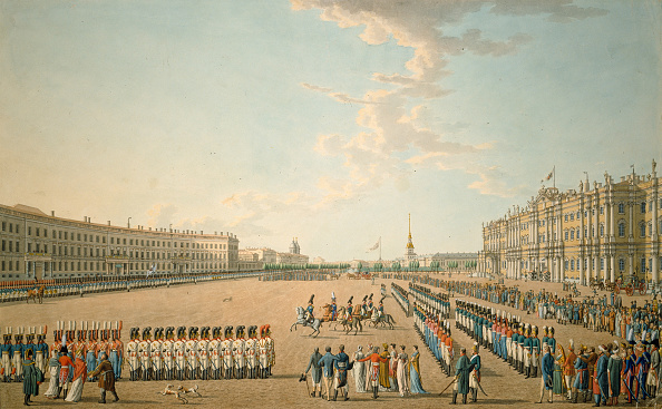 Mid Adult「Parade At The Palace Square In St. Petersburg」:写真・画像(11)[壁紙.com]